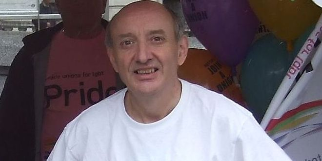 Paul Patrick at London Pride, 2007