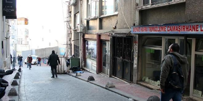 The place where trans woman was attacked - Photo: Murat Deliklitaş, DHA