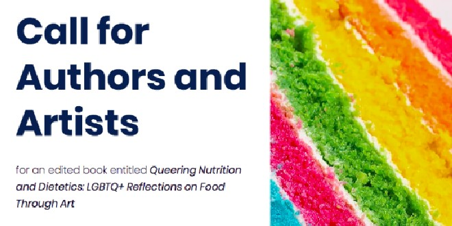 Artists & Authors Required for LGBTQI and Food Book